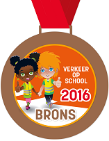 Winnaar bronzen medaille verkeer